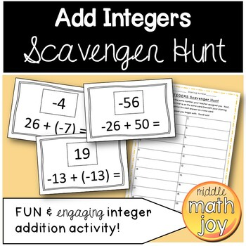 Add Integers Worksheets Teaching Resources Teachers Pay