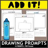 Add It! Drawing Prompts