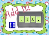 Add It! Music and Math Game