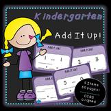 Add It Up (Kindergarten)