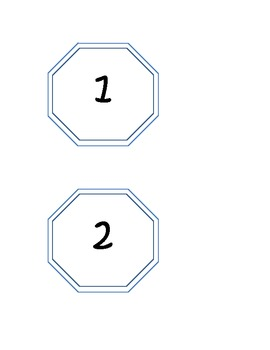 Add It Up: Blue Octagon numbers