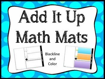 Add It Up Math Mats