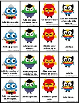 Add It Up: Owls to the Rescue, Open ended Speech therapy game