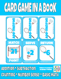 Add-Minton - Badminton themed basic addition and subtraction centers math game