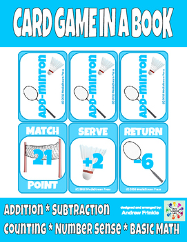 Add-Minton - Badminton themed basic addition and subtracti