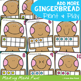 Add More Activity Cards - Gingerbread Man