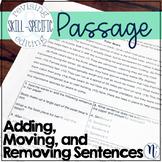 Add, Move, & Remove Sentences: Skill-Specific Revising & E