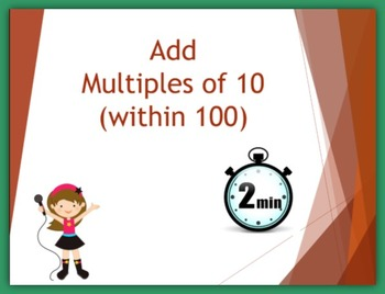 Add Multiples of 10 (within 100)