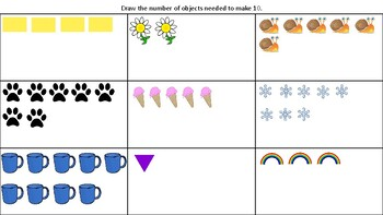 Add Objects to Make 10