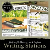 Add-On Writing Stations: Activity to Improve Writing Skills + DIGITAL Included