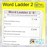 Word Ladder 2 (add one letter to make a new word distance