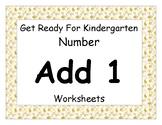 Add One Worksheet Pack