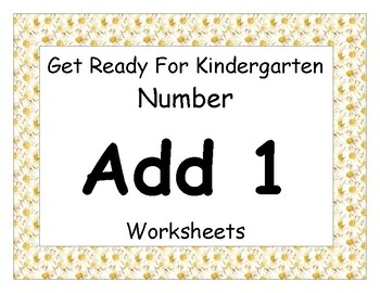 Add One Worksheet Pack