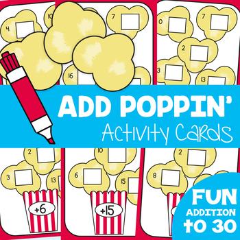 Addition Center - Add Poppin'