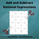 Add Rational Expressions: Monomial Like and Unlike Denominators