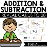 Add & Reveal {addition fluency to 20}