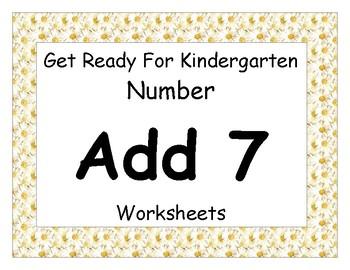 Add Seven Worksheet Pack