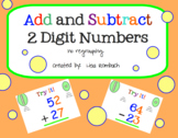 Add Subtract 2 Digit Numbers No Regrouping SmartBoard Lesson