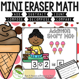 Add Subtract Count Compose Decompose Mini Eraser Math Cent