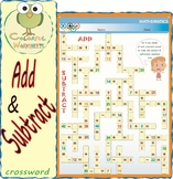 Add & Subtract Crossword