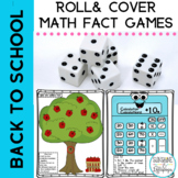Math Fact Games:Add & Subtract Fall Themed/Back to School