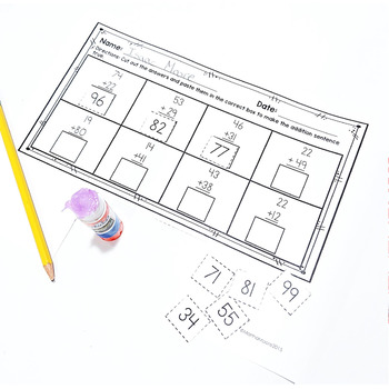 Add & Subtract Fluently within 100: 2.NBT.B.5 Common Core Math 2nd Grade
