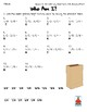 Add & Subtract Fractions like denominators Who Am I? Inventor Worksheet Freebie