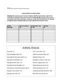 Add & Subtract Integers Activity