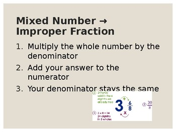 Add & Subtract Mixed Fractions PPT
