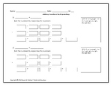 Add, Subtract, Multiply & Prime Factorize Graphic Organizer Pack (4 in 1)