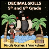 Decimals - Add, Subtract, Multiply, Divide, and Compare -