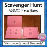 Add, Subtract, Multiply, and Divide Fractions Scavenger Hunt