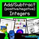 Add Subtract Positive & Negative Integers