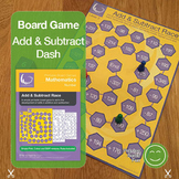 Add & Subtract Race Board Game