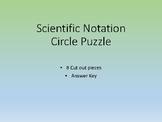 Add & Subtract Scientific Notation Puzzle
