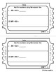 Add & Subtract Three-Digit Numbers Exit Slips & Assessment