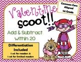 Add & Subtract Valentine Scoot