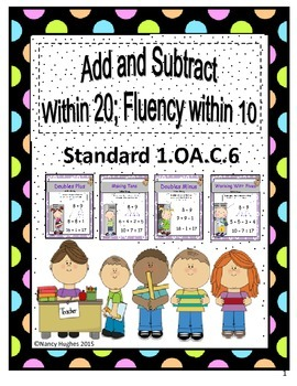 Add & Subtract Within 20; Fluency Within 10