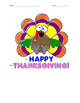 Add, Subtract and Multiply Thanksgiving Color by Number
