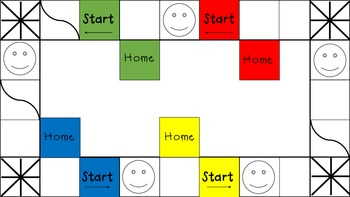 Add, Subtract, and Round Board Game