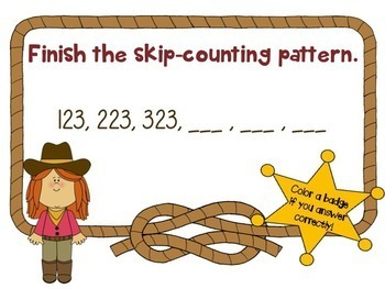 Addition, Subtraction, and Skip-Counting by 10s and 100s