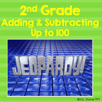 Add Subtract to 100 Jeopardy