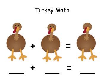 Add & Subtract with Turkey Math