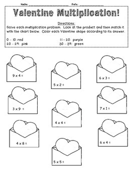 Add-Subtratct-Multipliy-Divide-Time-Fractions-Place Value-Money Valentine Fun!