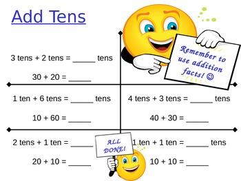 Add Tens