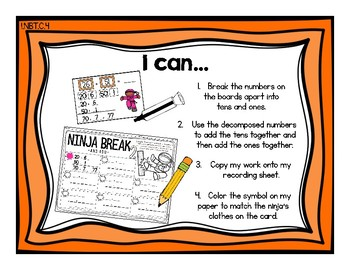 Add Tens and Add Ones {Common Core Math Resources}