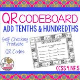 Add Tenths & Hundredths CCSS 4.NF.5