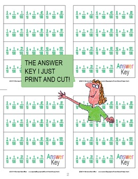 Add Tenths and Hundredths Memory Game