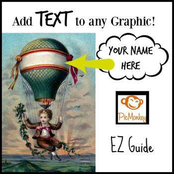 Add Text to Any Graphic Using PicMonkey