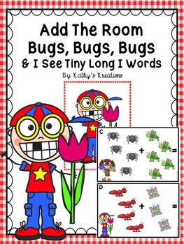 Add The Room Bugs, Bugs, Bugs, (& I See Tiny Long Vowel I Words)